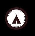 Tent Badge White
