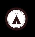Tente Badge blanc