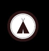 Палатка знак Белый
