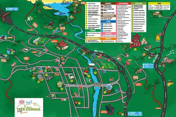 Mapa Turístico