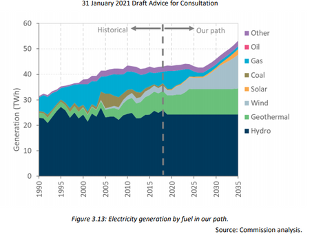 Climate recommendations and the renewable energy market