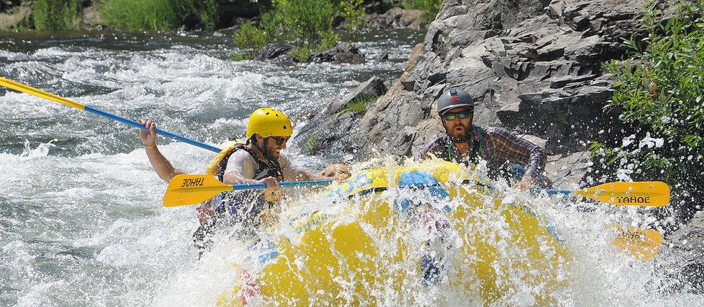 Tahoe Whitewater rafting