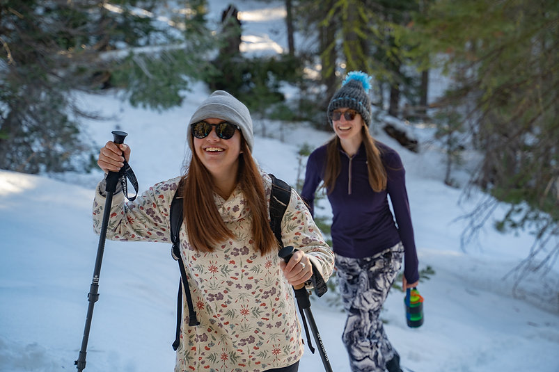 Half day guided snowshoe hike