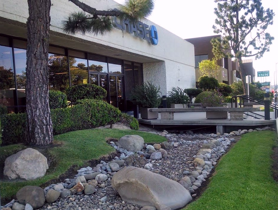Chase Bank Commercial Landscape