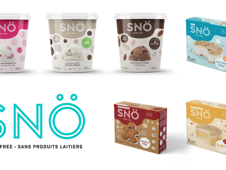 MEET SNÖ: the VEGAN brand that caters to ALL ice cream consumers.