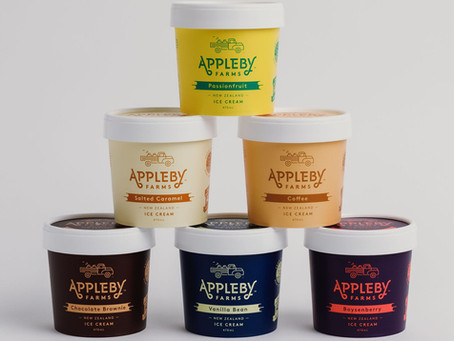From Cow to Cone: Meet APPLEBY FARMS Ice Cream.