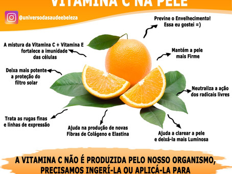 8 Motivos para Usar Vitamina C na Pele