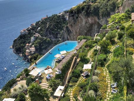 Benessere, natura, cucina stellata: l'estate del Monastero di Santa Rosa di Conca dei Marini