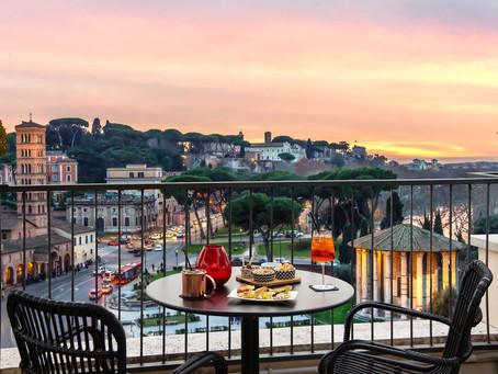 """""""Vacanze romane"""" al 47 Circus Roof Garden: aperitivo e cena in uno straordinario luogo del gusto"""