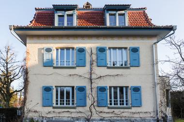 Fassade in der Schosshalde