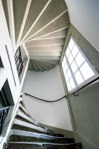 Treppenhaus in der Altsadt