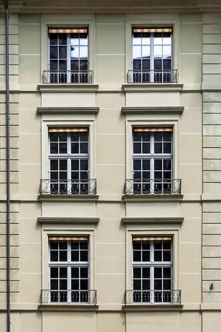 Fassade an der Münstergasse