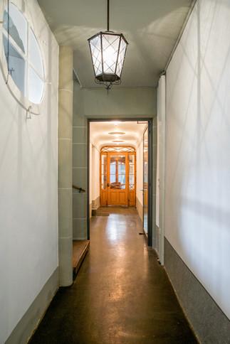 Korridor in der Altstadt Bern