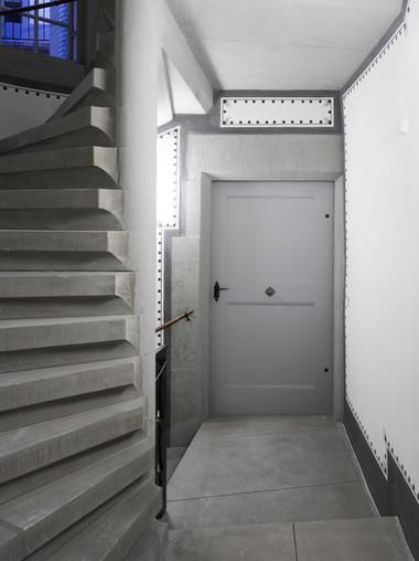 Treppenhaus in der Junkerngasse