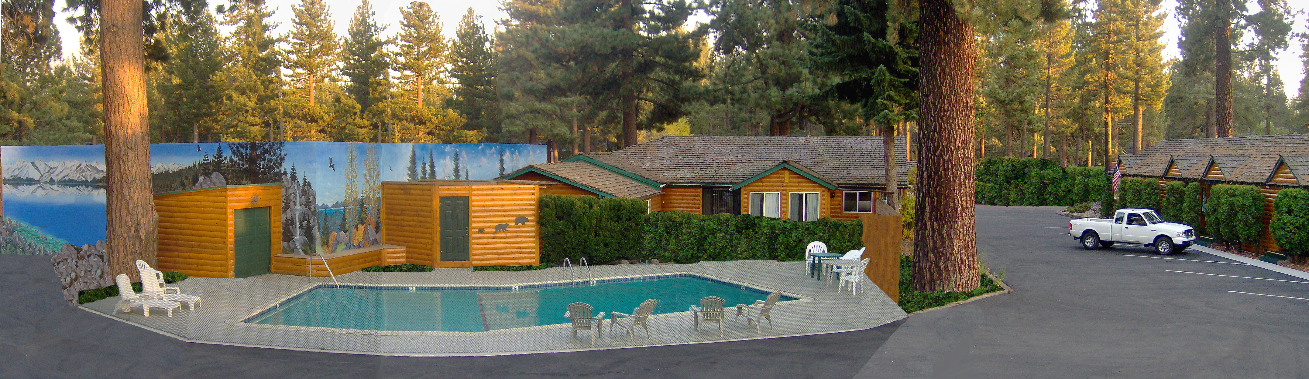 Heated Pool for Summer