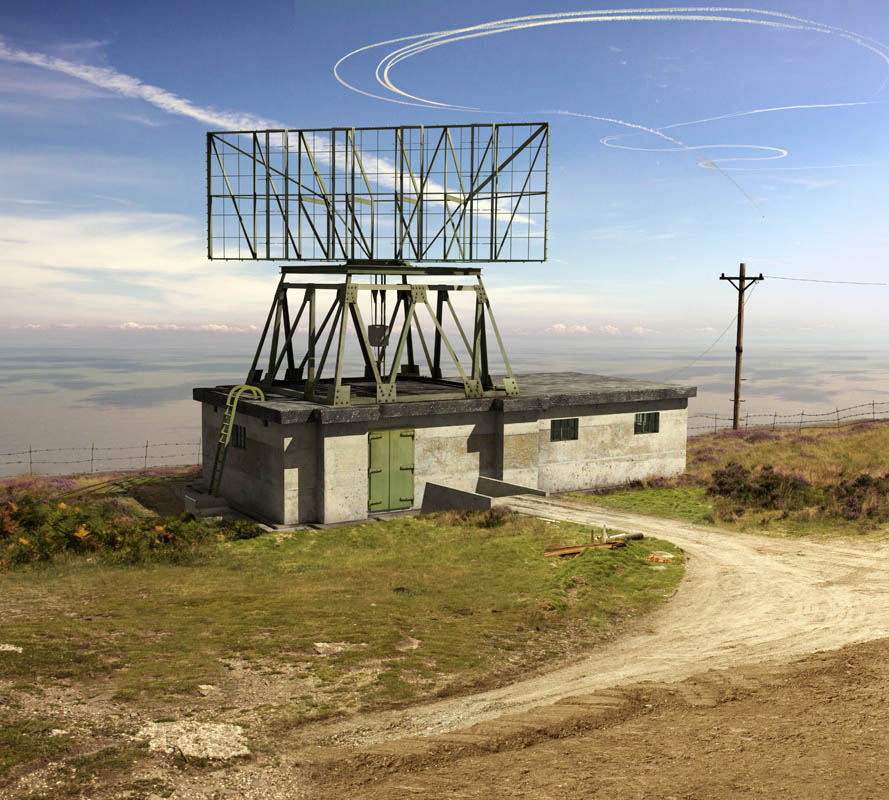 Reconstruction of the radar station