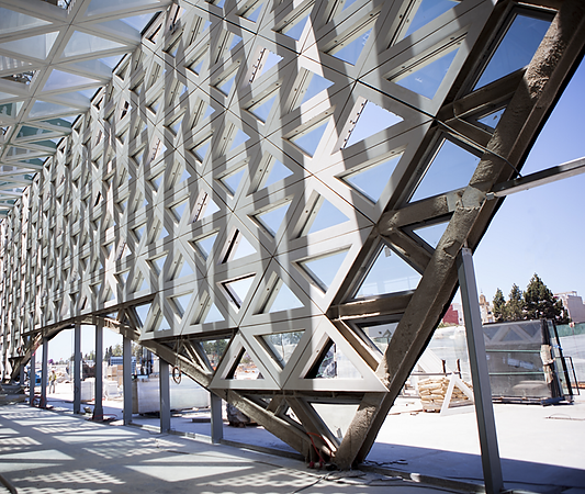 Brise-Soleil in Kenitra Train Station 00