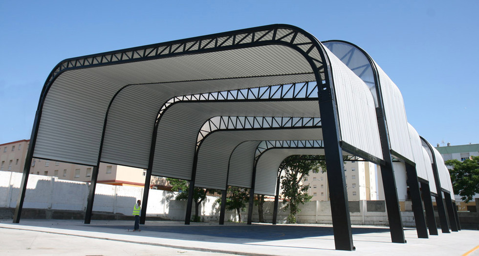Sports Court Shade Structure TRAGSA 002-