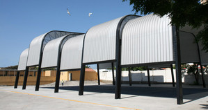Sports Court Shade Structure TRAGSA 001-