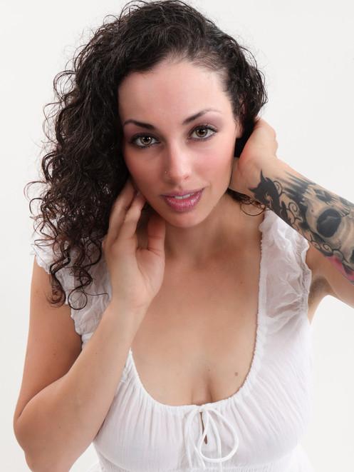 Jessie in white