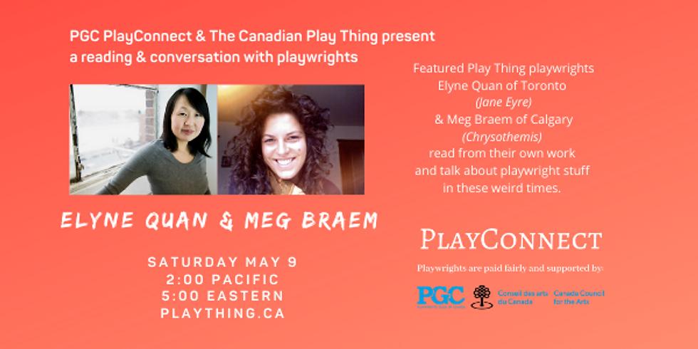 PGC PlayConnect: ELYNE QUAN & MEG BRAEM Live on The Thing
