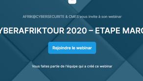 CYBERAFRIKTOUR 2020 – ETAPE #4 :MAROC