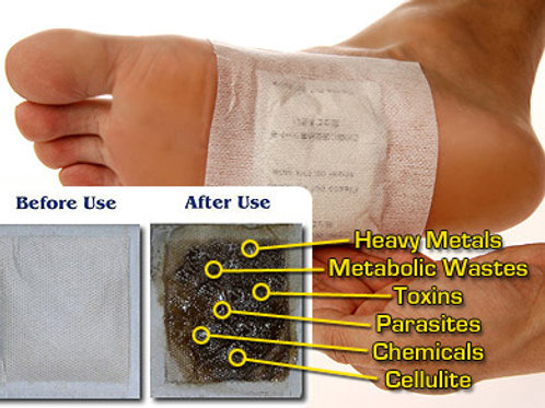 Lymphatic Foot Patches