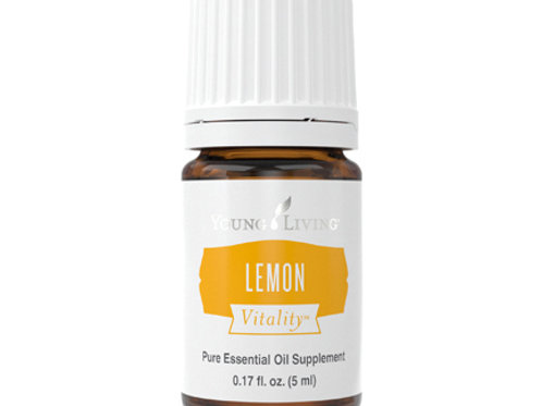 Lemon Vitality Essential Oil
