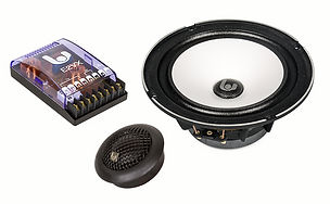 "Sinfoni high end, high performance, high sensitivity 6.5"" mobile audio speakers"