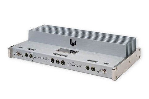 Sinfoni Prestigio world class reference class A mobile amplifier, effortless dynamics, holographic midrange and audiophile musicality