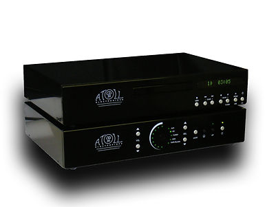 Atoll Electronique CD30 high end CDplayer, Wolfson DAC, IN30 Integrated amplifier, MOSFET amplifier, low feedback, high power