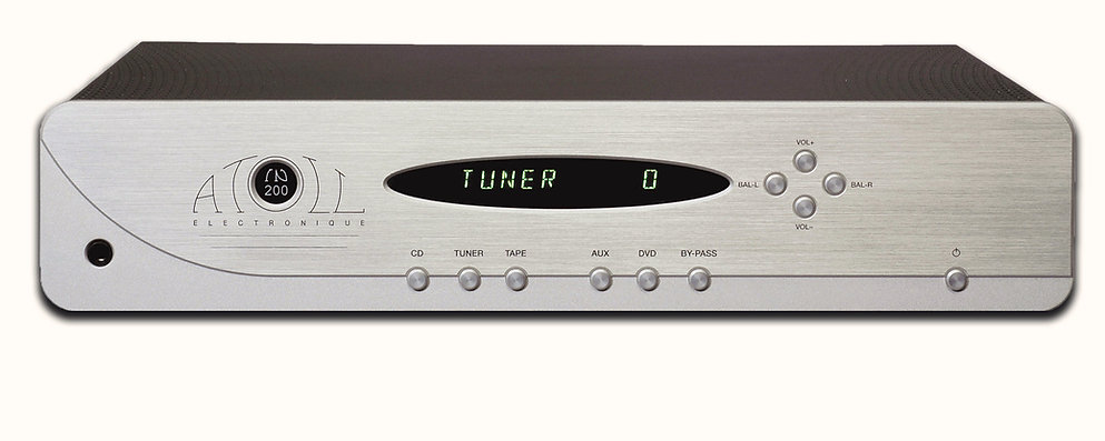 Atoll IN200SE integrated amplifier, hand made in France