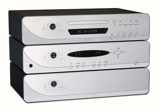 Atoll Electronics Prestige Separates, SACD 200 sacd reference player, PR 300 dual mono class  pre-amplifier, AM 200 SE-2 dual mono 200 X 2 watt amplifier bridgeable to a 300 watt mono block wih 400 watt dynamics with mundorf M-caps world class A rated
