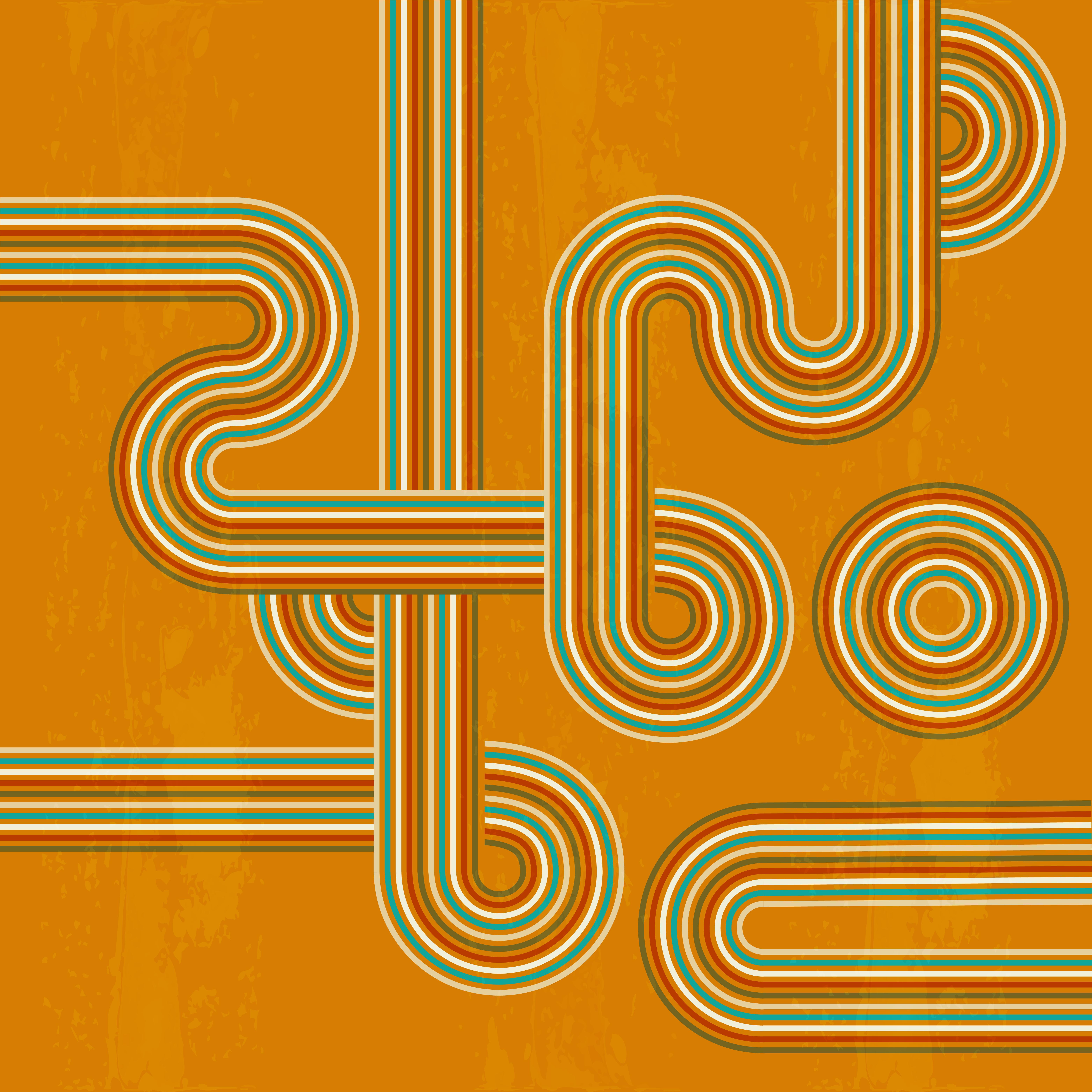 Tapis coloré synthétique