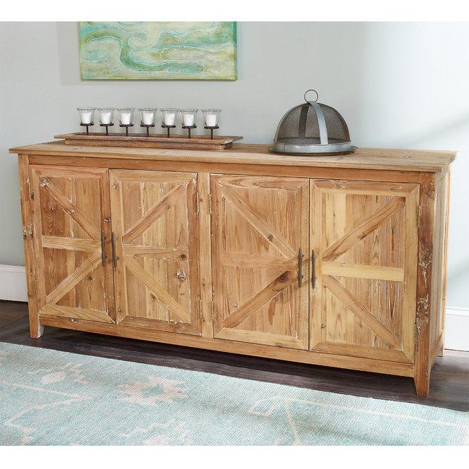 Buffet en bois 4 portes