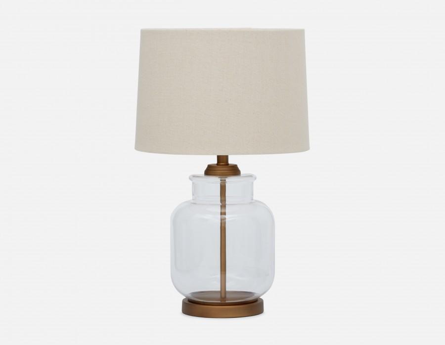Lampe de table base claire