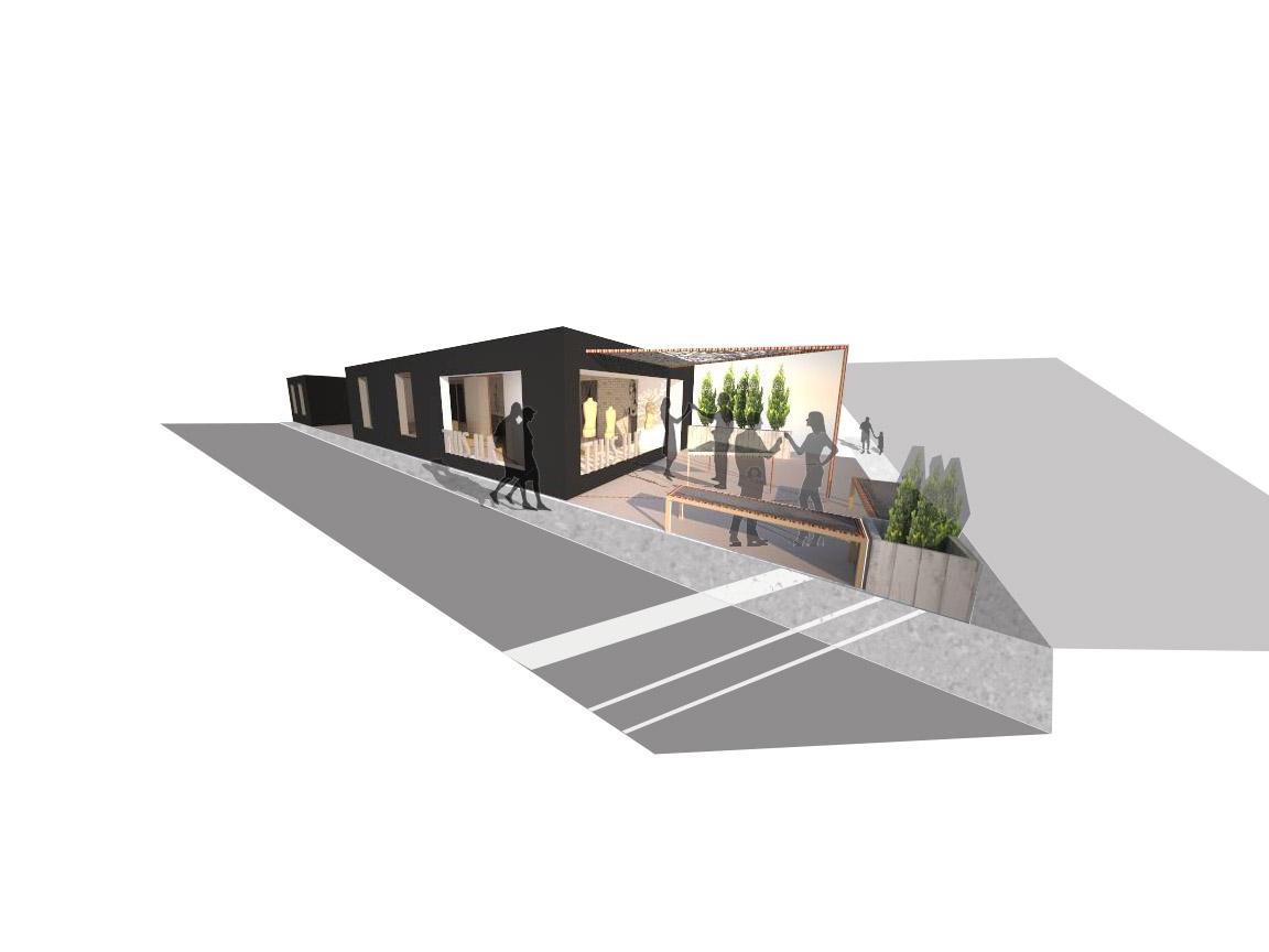 Terrasse 3d Magasin Phare
