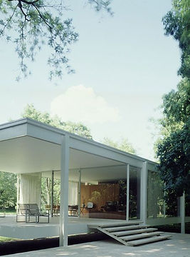 Fansworth House -Mies Van der Rohe