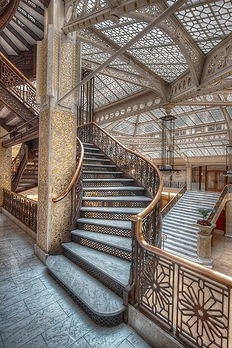 The Rookery by Frank Lloyd Wright