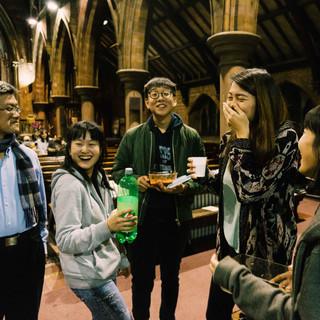 NEWC Student fellowship Welcoming 2018 1