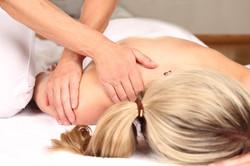 Sanfte osteopathische Behandlung