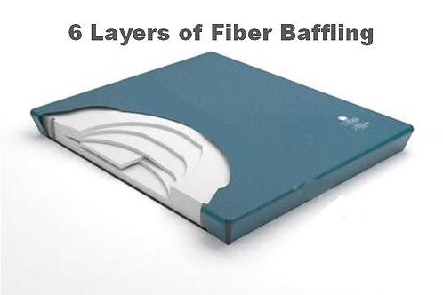 6 Layer Fiber Baffling Watermattress