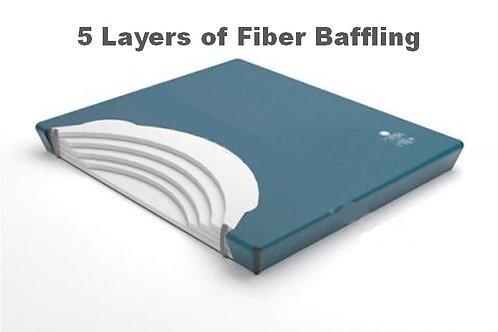 5 Layer Fiber Baffling Watermattress