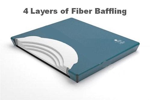 4 Layer Fiber Baffling Watermattress