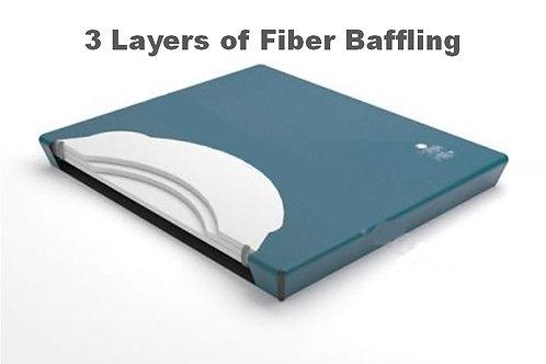 3 Layer Fiber Baffling Watermattress