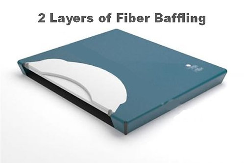 2 Layer Fiber Baffling Watermattress