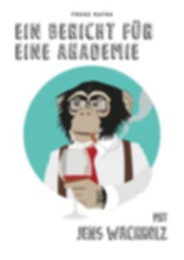 Franz Kafka, 11nach9, Vera Probs, Jens Wachholz, Solothurn, Theater, Ein Bericht für eine Akademie, Kulturgarage
