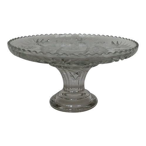 Billy Crystal Clear Dessert Stand