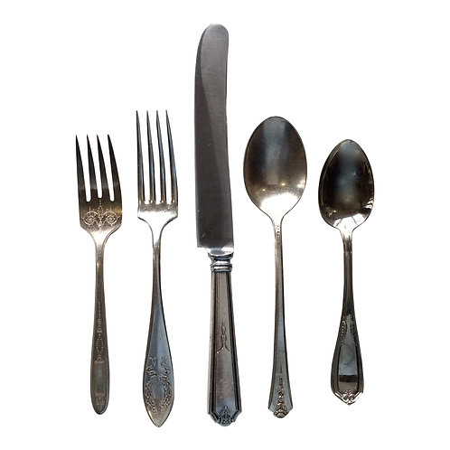 Silver Flatware Collection