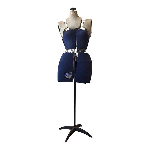 Navy Lady Dress Form